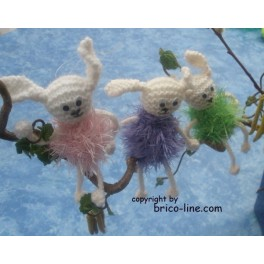 Joyeuse bande de lapins