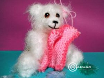 Ourson au tricot